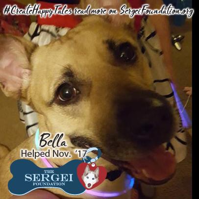 Bella – Helped Nov. 2017