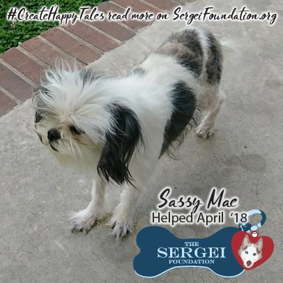 Sassy Mae – Helped April 2018